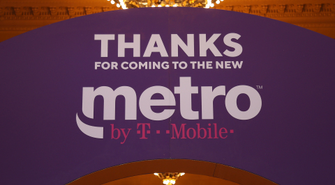 The new Metro by T-Mobile is here! (Photo: Business Wire)