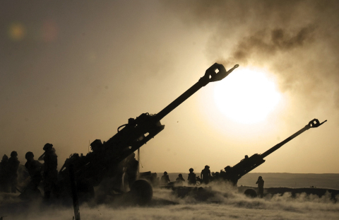 The M777 Ultra Lightweight Howitzer is rapidly deployable and consistently accurate. (Photo: BAE Systems, Inc.)