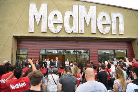 MedMen Paradise Opening in Las Vegas, Nevada. (Photo Credit: Getty Images for MedMen)