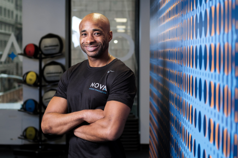 Jackie Wilson, NOVA Fitness CEO and Founder, Certified Personal Trainer. (Photo: Business Wire)
