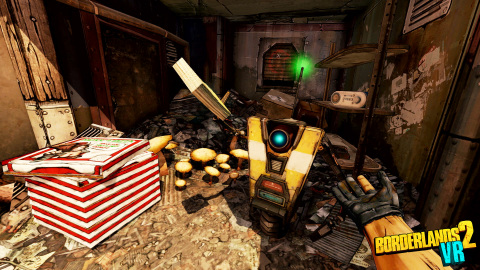 2K and Gearbox Software today announced Borderlands® 2 VR, that will bring the critically-acclaimed and genre-defining shooter-looter franchise to VR for the first time on December 14, 2018 on PlayStation®VR for $49.99. (Graphic: Business Wire)