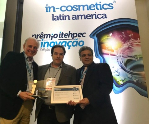 Plant Oil-Extracted Active Ingredient, BLUE Oléoactif®, Wins Silver for Hallstar at in-cosmetics Latin America (Photo: Business Wire)