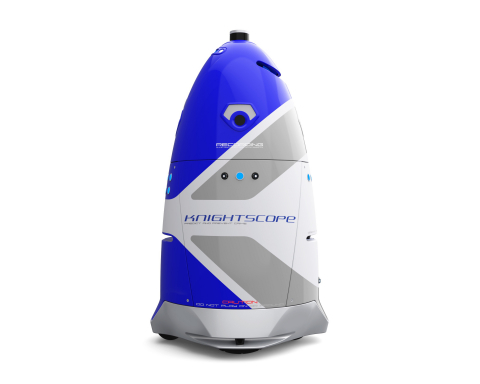 "Knightscope K5 autonomous security robot featured at Wired25, ""a celebration of the ideas, innovatio ..."