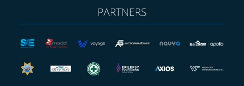 World Safety Summit on Autonomous Technology Partners (Graphic: Business Wire)