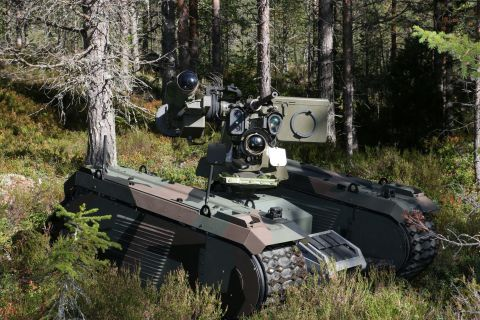 The Titan/THeMIS is the most sought after platform by weapon systems developers (Photo: Business Wir ...