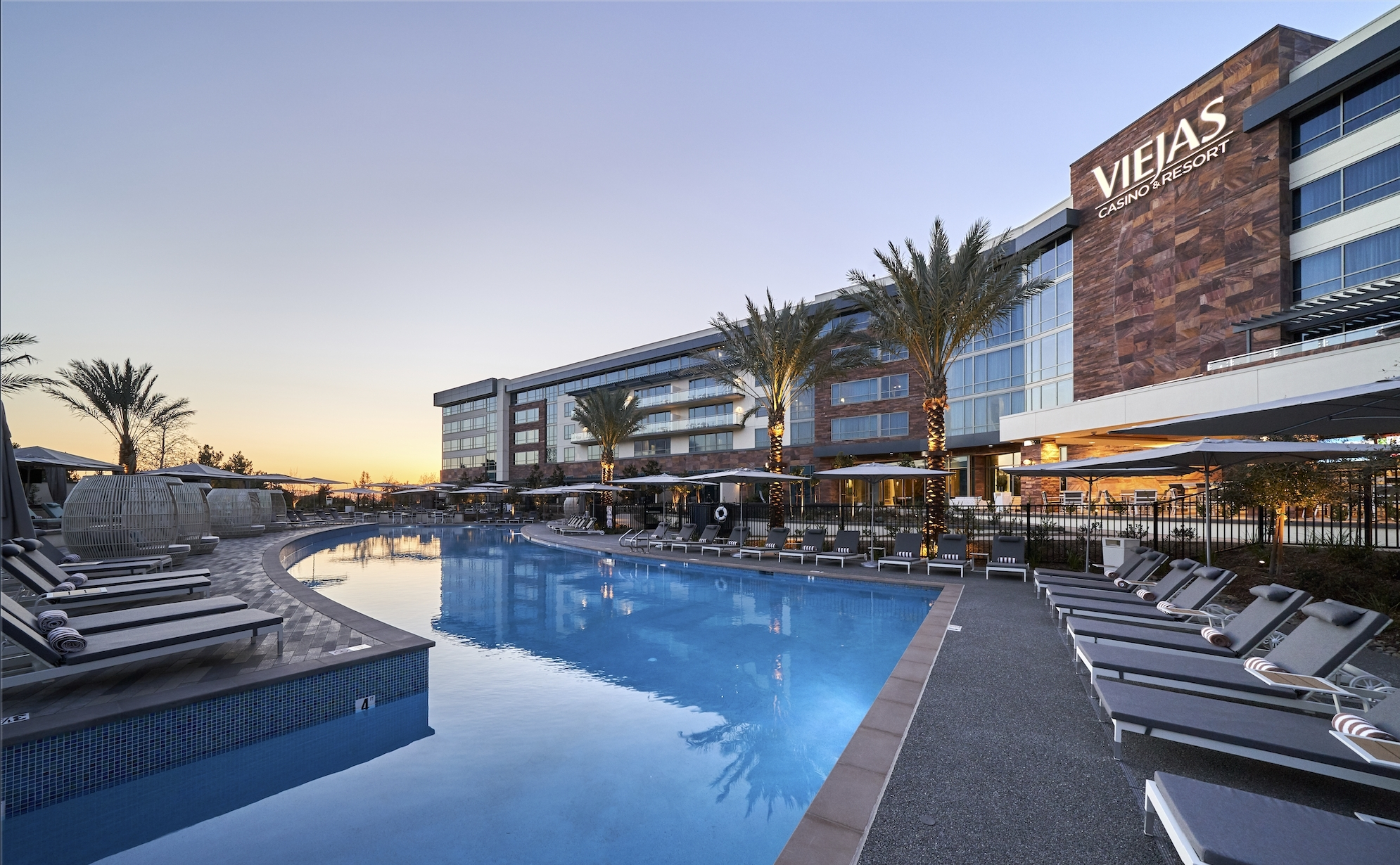 viejas casino resort completes seven year expansion project