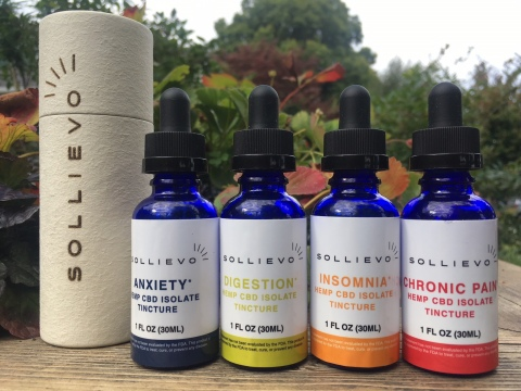 """Empower Clinics """"Sollievo"""" CBD Medical Cannabis Products (Photo: Business Wire)"""