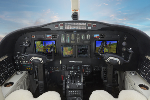 G700 TXi installed in a Citation business jet. (Photo: Business Wire)