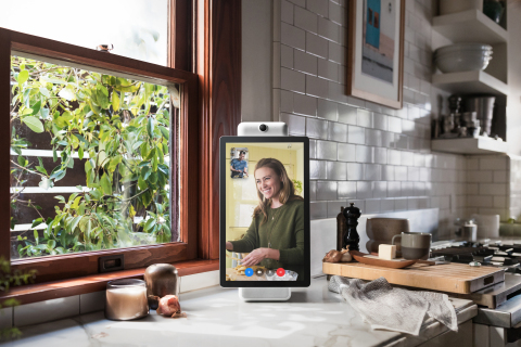 Surfaceink worked with Facebook's Building 8 Group to develop the new Portal and Portal+ (Photo: Bus ...