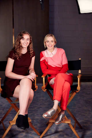 Actress Emily Blunt and Marisa Torre (USA, age 17) take part in Disney's #DreamBigPrincess global video series, produced and directed by young women from the UN Foundation's Girl Up initiative. Offering inspiration from trailblazing women, the series will be shared on social media to unlock up to a $1 million donation to Girl Up. (Photo: Business Wire)
