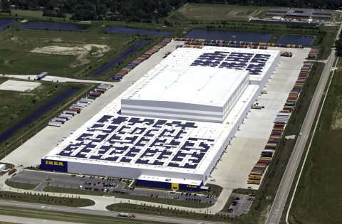 IKEA celebrates grand opening of IKEA Midwest distribution center in Joliet, IL. (Photo: Business Wire)