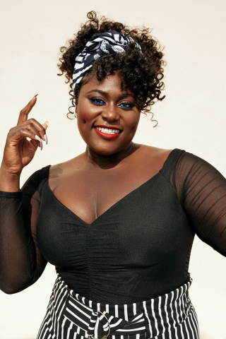 Danielle Brooks featured in looks selected from her collaboration with FTF (Photo: Business Wire)