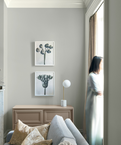 Benjamin Moore Color of the Year 2019, Metropolitan AF-690 (Photo: Business Wire)