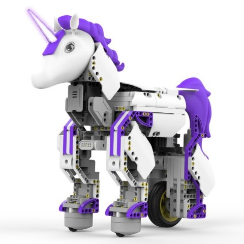 The all-new Mythical Series: UnicornBot Kit is a codable and interactive robot unicorn that is desig ...