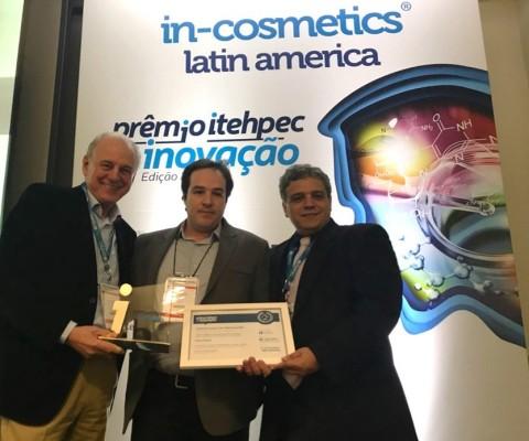 Hallstar公司的植物油萃取活性成分BLUE Oléoactif®獲得拉丁美洲in-cosmetics銀牌獎(照片:美國商業資訊)