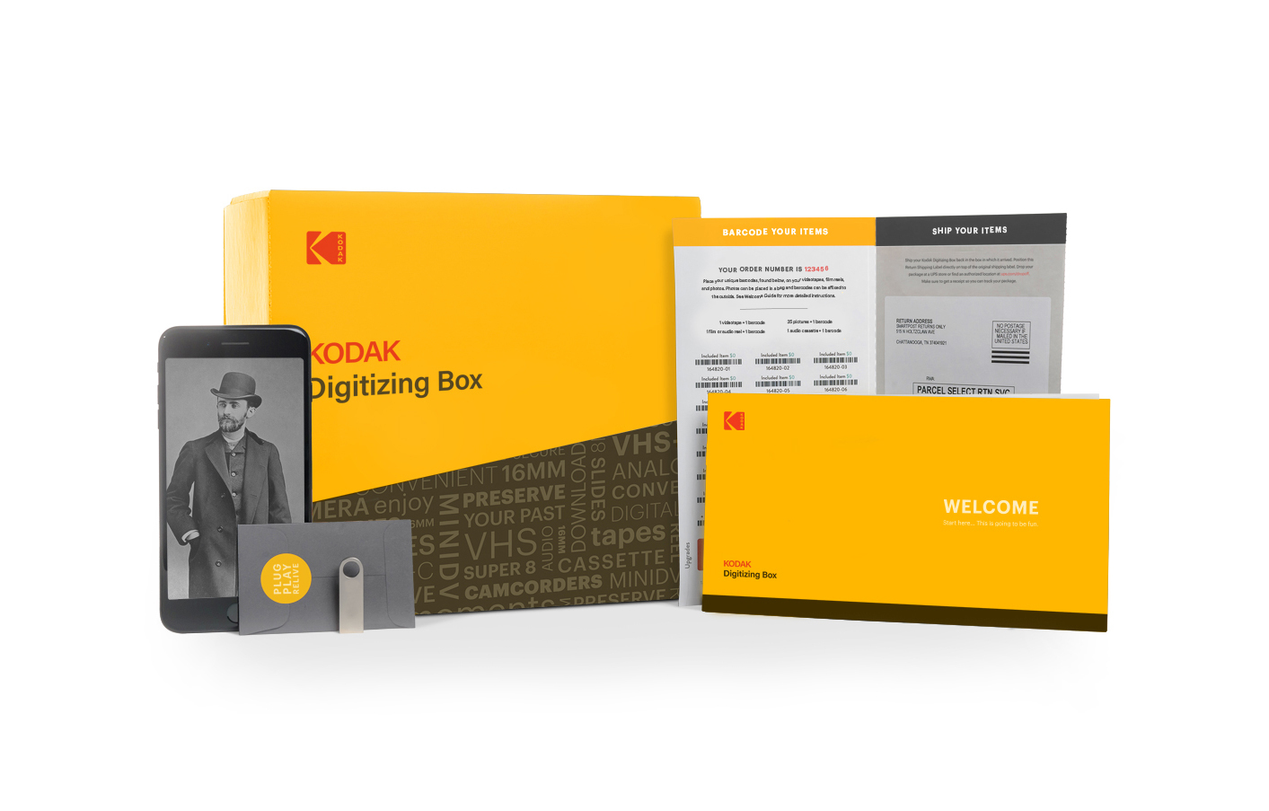 Kodak at Your Door Step with the New Digitizing Box   Business Wire