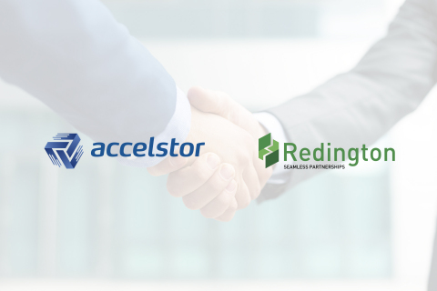AccelStor Partners with Redington Value (Graphic: Business Wire)