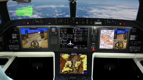Rockwell Collins' Pro Line Fusion® avionics are featured on Embraer's new Praetor 500 and Praetor 60 ...