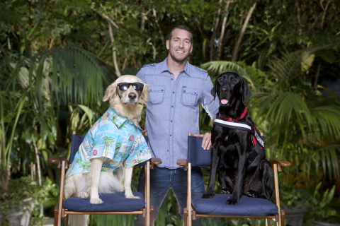 3-time EMMY® winning TV host and dog trainer Brandon McMillan joins the Lucy Pet Products team to help pets live a healthier life. (Photo: Business Wire)