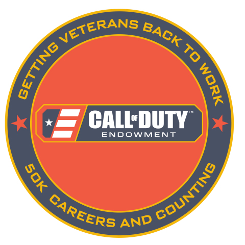 The Call of Duty Endowment Hits Goal of Placing 50,000 Veterans in Meaningful Employment Ahead of Schedule (Graphic: Business Wire)