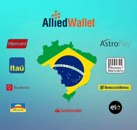 Allied Wallet recently added several new payment options to their platform to service the growing demand of alternative options in Brazil and abroad. (Graphic: Business Wire)
