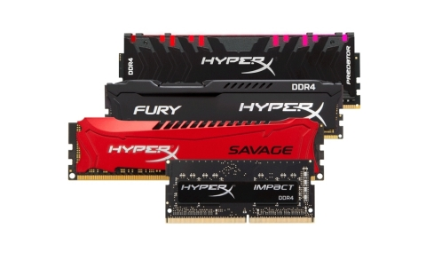 HyperX Ships 60 Million Memory Modules, 2 Billion Bytes of Memory and including all HyperX products, is projected to exceed $550M in revenue in 2018. (Photo: Business Wire)