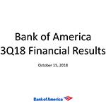 Q3 2018 Bank of America Investor Relations Presentation