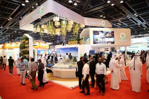 DEWA organises 20th WETEX & 3rd Dubai Solar Show from 23-25 October 2018 (Photo: AETOSWire)