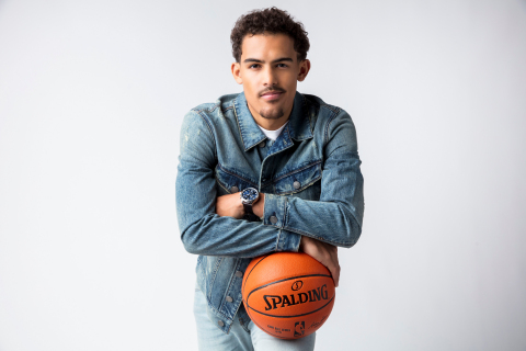 Tissot, Official Watch of the NBA, announces partnership with top rookie Trae Young (Photo: Tissot)