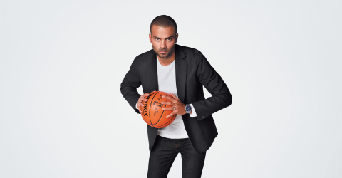 Tissot, Official Watch of the NBA, reaffirms relationship with long-time brand ambassador and four-time NBA Champion and six-time NBA All-Star Tony Parker (Photo: Tissot)