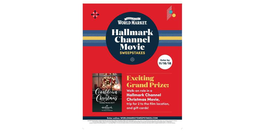 Cost Plus World Market Partners with Hallmark Channel to Celebrate ...