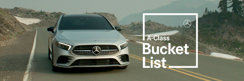 Mercedes-Benz USA A-Class Bucket List (Photo: Business Wire)