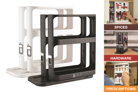 Bye-bye clutter. Make the most out of every inch of space with this game-changing, space-saving organizer… the Store It! Cabinet Caddy! (Photo: Business Wire)