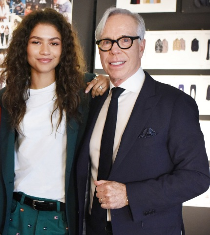 Zendaya with Mr. Tommy Hilfiger (Photo: Business Wire)