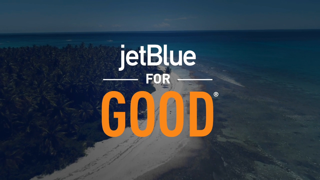 JetBlue's Newest Destination is... Good! Customers Can #CheckInForGood Online and at Pop-up Kiosks to Enter For an Opportunity to Join JetBlue on a Four-Day Service Trip to Destination Good.