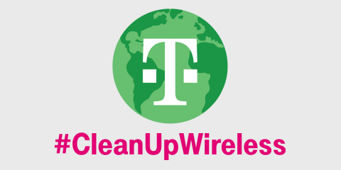 Magenta Goes Greener: T-Mobile to Power HQ with Renewable Energy by 2021; Receives Recognition for Green Leadership.  (Graphic: Business Wire)