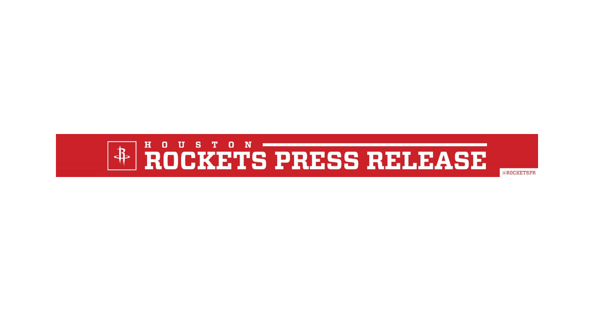 5cdffac39ff ROKiT Phones Named Inaugural Jersey Partner for Houston Rockets ...