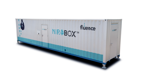 Fluence's three (3) plants for IWSI will consist of a total of twelve (12) NIROBOX™ SW-XL units, pictured. (Photo: Business Wire)