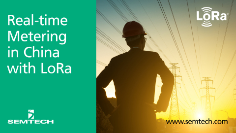 Semtech's LoRa Technology Manages China Utilities in Real Time (Photo: Business Wire)