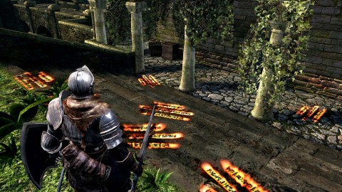 DARK SOULS: REMASTERED includes the main game plus the Artorias of the Abyss DLC. The DARK SOULS: REMASTERED game is available Oct. 19. (Photo: Business Wire)