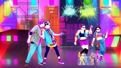 """The Just Dance 2019 game features 40 hot tracks from chart-topping hits to family favorites, including """"Havana"""" by Camila Cabello, """"I Feel It Coming"""" by The Weeknd ft. Daft Punk and more. Your Just Dance experience is now personalized as the game learns your dancing habits and suggests content. Just Dance 2019 launches Oct. 23. (Photo: Business Wire)"""
