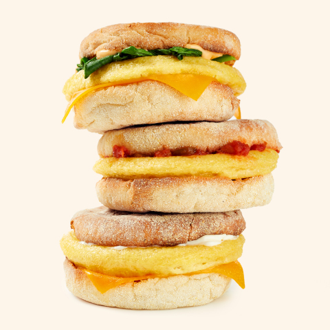 Aramark will offer the JUST Egg Breakfast Patty at select corporate and hospital cafes and college campus food courts, for a limited time, beginning October 22. (Photo: Business Wire)