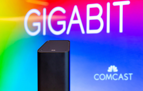 Comcast announced the availability of Xfinity Gigabit Internet to nearly all 58 million homes and businesses served across the company's footprint. (Photo: Comcast)