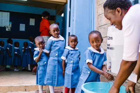 Pentair and the Pentair Foundation partnered with SHOFCO to implement the Kibera School for Girls' C ...
