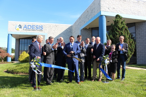 Adesis Ribbon Cutting Ceremony on October 19, 2018 for new state-of-the-art laboratories. (Photo: Emily David)