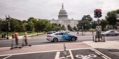 Ford is expanding to become the first company to test autonomous vehicles in Washington, D.C., accor ...