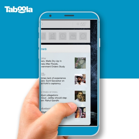 Taboola and vivo partner to deliver Taboola News to Android devices (Photo: Business Wire)