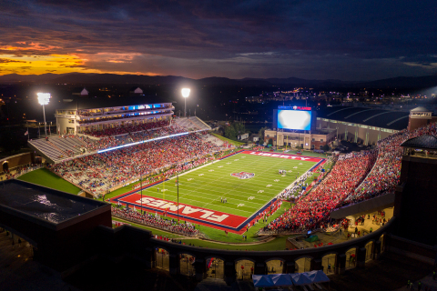 Liberty University is using Aruba infrastructure to deliver a mobile-first fan experience in its Wil ...