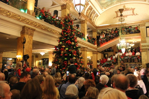 Join in the holiday spirit at The Pfister Hotel in Milwaukee, Wisconsin (Photo: Business Wire)