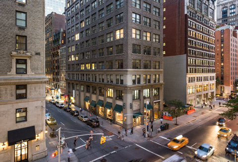 WeWork has signed a 115,000-square-foot, long-term lease with Columbia Property Trust for the entire ...